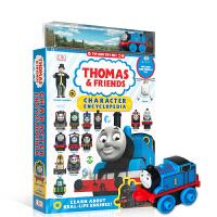 【全店300减100】英文原版 托马斯和他的朋友们人物百科全书 Thomas & Friends 儿童课外阅读插画绘本知