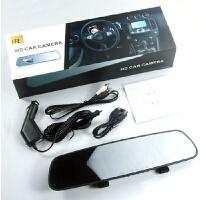 高清新款汽车行车记录仪行驶仪后视镜保险礼品记录仪新款 黑色
