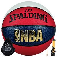 斯伯丁(SPALDING)7号标准篮球PU复合材料室内外通用比赛炫彩篮球