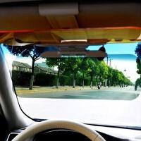 汽车护目镜防刺眼防眩镜日夜两用太阳墨镜夹片车载遮阳板偏光避光SN0273