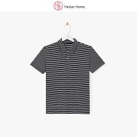 海澜优选商务休闲短袖POLO衫男士2018夏季吸汗透气速干T恤