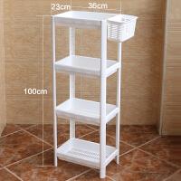 家居生活用品多功能浴室置物架壁挂卫生间小收纳架落地转角储物2/3/4 层免打孔 带挂篮