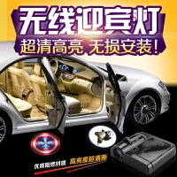 丰田迎宾灯威驰花冠卡罗拉RAV4 致炫 雷凌荣放改装无线车门投影灯