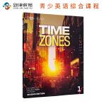 原版进口 TIME ZONES Second Edtion 1学生用书含在线练习 美国国家地理学习青少英语综合课程