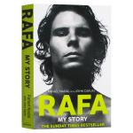 拉菲尔纳达尔自传 我的故事 英文原版人物传记 Rafa My Story 网球 Rafael Nadal 英文版 进口原