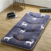 ???寝室大学生床垫褥子单人0.9宿舍90x190cm上下铺软垫被加厚可折叠