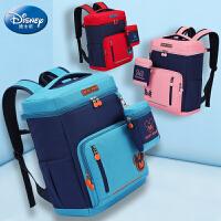 迪士尼儿童书包1-3-4-6年级小学生男孩女生减负护脊双肩背包轻便