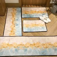进门家用地垫入户门垫卧室门口厨房吸水脚垫防滑垫子地毯 麦金地垫