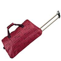 商务情侣款旅行包  男女士拉杆包  登机箱软包  手提行李袋