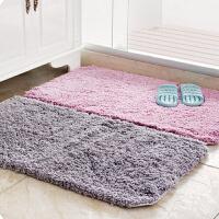 加厚长毛地垫浴室进门吸水脚垫卫浴防滑垫厨房门垫卧室地毯踩脚垫