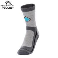 【部分商品两件75折】PELLIOT户外登山袜男女排汗透气速干袜徒步跑步运动袜户外袜
