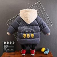 男童冬装棉衣儿童加厚棉袄洋气外套中小童中长款宝宝