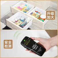 加厚大号抽屉式收纳箱盒宝宝衣柜儿童玩具储物箱衣服整理床头柜子