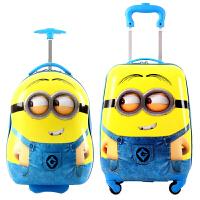 儿童拉杆箱16寸男女旅行箱卡通登机箱行李箱18寸万向轮小拖箱学生