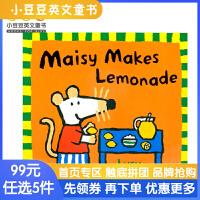 进口原版Maisy's makes lemonade 小鼠波波制作柠檬水[平装]