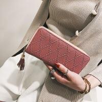 长款女钱包女士钱包时尚拉链手拿包手机零钱包
