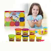培乐多彩泥套装橡皮泥8色装儿童玩具粘土play-doh