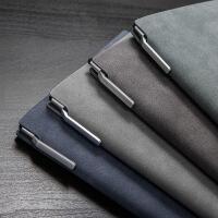 笔记本文具A5复古加厚大本子套装带笔办公用学生用记事本