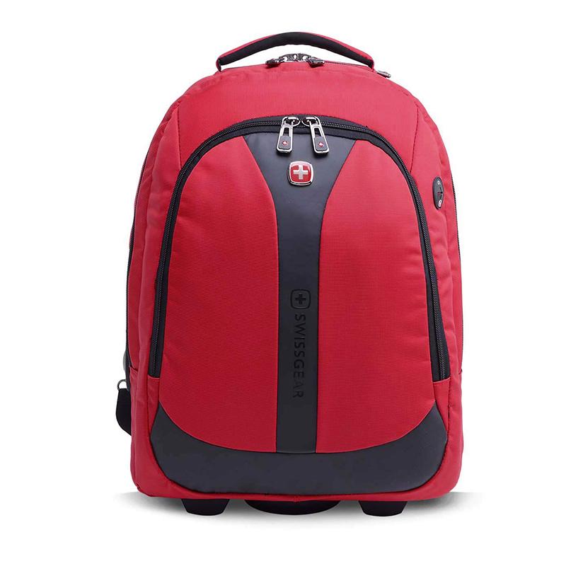 瑞士军刀 拉杆箱背包一包两用时尚经典双肩包