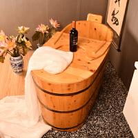 家居生活用品香柏木沐浴桶木桶浴桶洗澡桶儿童泡澡木桶木质木桶浴缸