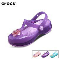 【2双3折】Crocs童鞋女夏 凉鞋 卡骆驰女儿童公主鞋伊莎贝拉花园鞋|204034 伊莎贝拉小克骆格
