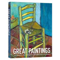 DK世界名画欣赏 英文原版 Great Paintings 了解每幅画背后隐藏的意义和符号 DK大百科 拉斐尔 达芬奇