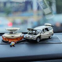 创意合金车模奔驰GL500仿真汽车模型车载香水装饰品车内汽车摆件