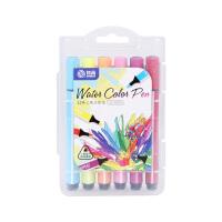 水彩笔12色24色彩色笔小学生儿童可洗画画笔套装 水彩笔【12色】