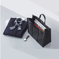韩国简约商务公文包女定制LOGO帆布手提包文件包休闲学生书包布包