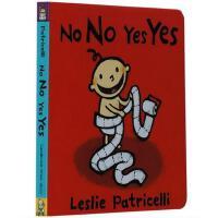 【现货】英文原版 No No Yes Yes培养宝宝行为习惯:可以与不可以 启蒙纸板书