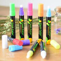 Led电子荧光板专用笔彩色POP笔玻璃液体粉笔海报涂鸦DIY发光黑板