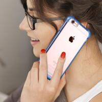 苹果iPhone7/7plus/6/6s/6plus/6s plus亚克力透明气囊防摔手机壳全包透明硬壳(软侧边)苹果
