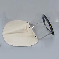 电焊面罩 防雨防沙防尘打磨切割焊工透明摩托车面具 焊接遮面罩