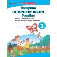 【全店300减100】英文原版 Scholastic 学乐出版 小学生3年级 Complete Comprehensio