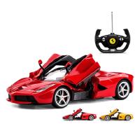 星辉法拉利可开门遥控汽车充电动方向盘遥控赛车男孩儿童玩具跑车
