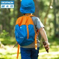 迪卡侬男女双肩背包儿童小书包 旅行休闲迷你运动包7L QUBP