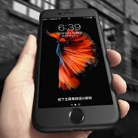 iPhone6手机壳苹果6splus保护套六全包防摔6plus超薄6磨砂6s硬i6新款女潮男硅胶潮牌 6/6S 星空黑