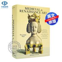 现货塔森出版中世纪文艺复兴时期欧洲装饰艺术 英文原版BECKER. MEDIEVAL & RENAISSANCE ART