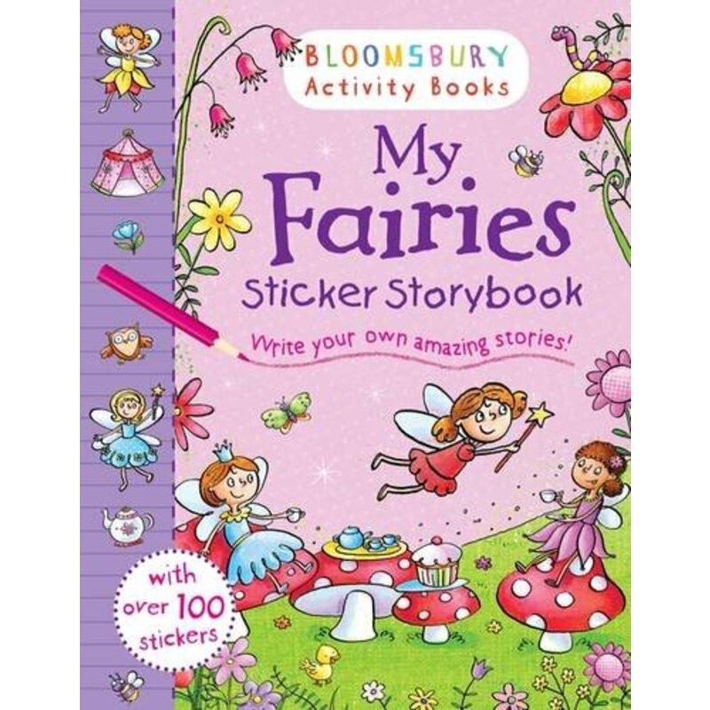 Bloomsbury Activity Books: My Fairies Sticker Storybook    ISBN:9781408847282