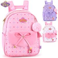 迪士尼女童书包1-2年级小学生苏菲亚小公主少女休闲儿童双肩背包