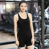 新款健身房瑜伽服女士背心韩系单上衣 女跑步运动服速干跳操yoga服背心