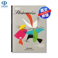 英文原版 现代专辑封面设计创作者 精装艺术书 Steinweiss: The Inventor of the Moder