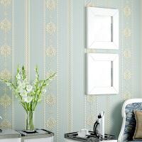 竖条纹无纺布壁纸现代简约客厅电视背景墙3D立体墙纸 精压壁纸 仅墙纸