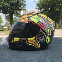 个性摩托车头盔全盔机车四季男女士全覆式酷夏季安全赛车越野头盔