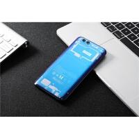 小米6后盖塑料磨砂黑六note3透明玻璃蓝色电池后壳手机后盖壳mi替换陶瓷尊享版八8/8se探 新品 小米6电镀蓝光版