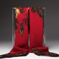 韩版流行烫金印花大方丝巾1米*1米女纱围巾披肩气质丝巾气质民族风仿真丝巾