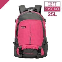户外登山包双肩包女户外旅行包运动双肩背包休闲学生书包25L45L