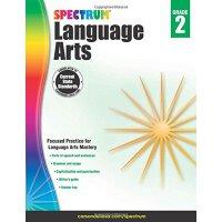 Spectrum Language Arts, Grade 2 英文原版 Spectrum 语文,2年级