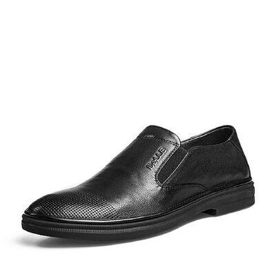 Belle/百丽2018夏新品专柜同款牛皮男休闲鞋5RP02BM8
