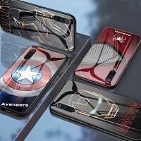 小米9手机壳玻璃小米8保护套小米9se蜘蛛侠个性小米8se美国队长创意小米8青春版钢铁侠米9防摔外壳
